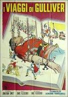 Gulliver's Travels - Italian Movie Poster (xs thumbnail)