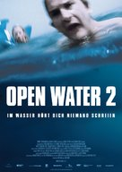 Open Water 2: Adrift - German Movie Poster (xs thumbnail)