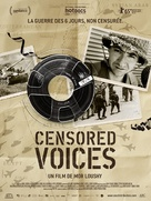 Censored Voices - French Movie Poster (xs thumbnail)