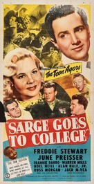 Sarge Goes to College - Movie Poster (xs thumbnail)