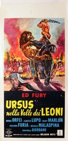 Ursus nella valle dei leoni - Italian Movie Poster (xs thumbnail)