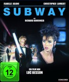 Subway - German Blu-Ray movie cover (xs thumbnail)