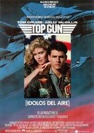 Top Gun - Spanish Movie Poster (xs thumbnail)