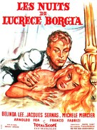 Notti di Lucrezia Borgia, Le - French Movie Poster (xs thumbnail)