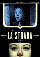 La strada - DVD movie cover (xs thumbnail)