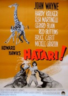 Hatari! - Swedish Movie Poster (xs thumbnail)
