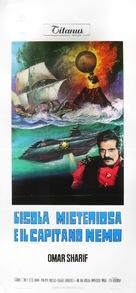 Isla misteriosa y el capitán Nemo, La - Italian Movie Poster (xs thumbnail)