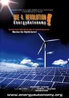Die 4. Revolution - Energy Autonomy - German Movie Poster (xs thumbnail)