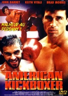 American Kickboxer - French DVD cover (xs thumbnail)