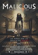 Malicious - Mexican Movie Poster (xs thumbnail)