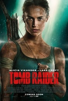 Tomb Raider - British Movie Poster (xs thumbnail)