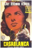 Casablanca - Spanish Movie Poster (xs thumbnail)