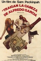 Bring Me the Head of Alfredo Garcia - Argentinian Movie Poster (xs thumbnail)