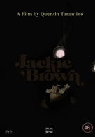 Jackie Brown - British DVD cover (xs thumbnail)