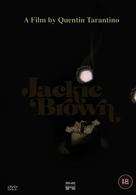 Jackie Brown - British DVD movie cover (xs thumbnail)