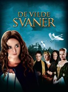De vilde svaner - Danish Movie Poster (xs thumbnail)