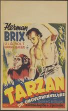 The New Adventures of Tarzan - Dutch Movie Poster (xs thumbnail)