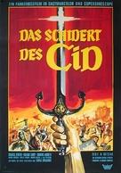 La spada del Cid - German Movie Poster (xs thumbnail)