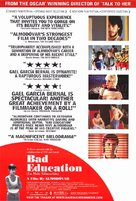 La mala educación - Movie Poster (xs thumbnail)