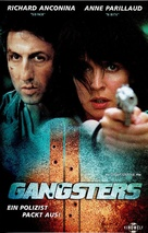 Gangsters - German VHS cover (xs thumbnail)