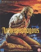 Antropophagus - British Blu-Ray movie cover (xs thumbnail)