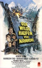 Force 10 From Navarone - German VHS movie cover (xs thumbnail)