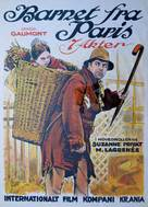 L'enfant de Paris - Norwegian Movie Poster (xs thumbnail)