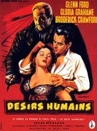 Human Desire - French Movie Poster (xs thumbnail)