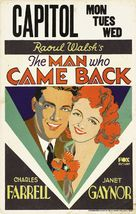 The Man Who Came Back - Movie Poster (xs thumbnail)