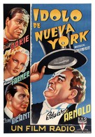 The Toast of New York - Spanish Movie Poster (xs thumbnail)