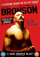 Bronson - British Movie Cover (xs thumbnail)