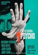 Psycho - German Movie Poster (xs thumbnail)