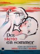 A Summer Place - Danish Movie Poster (xs thumbnail)