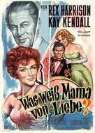 The Reluctant Debutante - German Movie Poster (xs thumbnail)