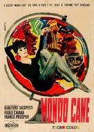 Mondo cane - Italian Movie Poster (xs thumbnail)