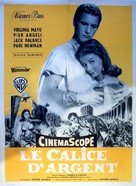 The Silver Chalice - French Movie Poster (xs thumbnail)