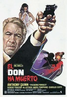 The Don Is Dead - Spanish Movie Poster (xs thumbnail)