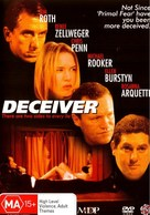 Deceiver - Australian DVD cover (xs thumbnail)