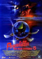A Nightmare on Elm Street: The Dream Child - Spanish Movie Poster (xs thumbnail)