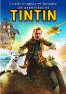 The Adventures of Tintin: The Secret of the Unicorn - French DVD movie cover (xs thumbnail)