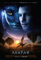 Avatar - Theatrical movie poster (xs thumbnail)