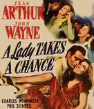A Lady Takes a Chance - Blu-Ray movie cover (xs thumbnail)