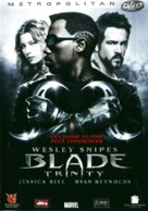 Blade: Trinity - French DVD movie cover (xs thumbnail)