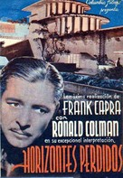 Lost Horizon - Spanish Movie Poster (xs thumbnail)