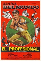 Le professionnel - Spanish Movie Poster (xs thumbnail)