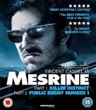 L'instinct de mort - British Blu-Ray movie cover (xs thumbnail)
