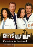 """Grey's Anatomy"" - French DVD movie cover (xs thumbnail)"