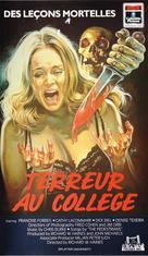 Splatter University - French Movie Cover (xs thumbnail)