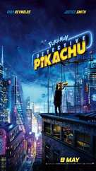 Pokémon: Detective Pikachu - Singaporean Movie Poster (xs thumbnail)