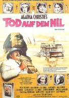 Death on the Nile - German Movie Poster (xs thumbnail)